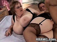 Pretty porn tube - fat couples fucking