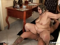 Old and Young xxx movies - chubby belly girls